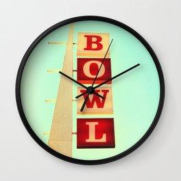 Bowl! Wall Clock