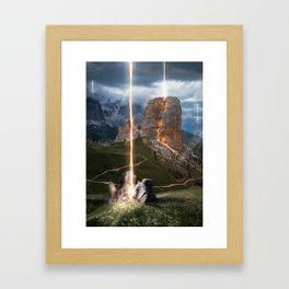 What if it ended? Framed Art Print
