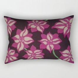 Night Blooming Dahlia Rectangular Pillow