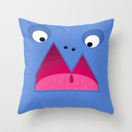 Reykjavik Boulevard #12 Throw Pillow
