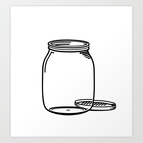 The Empty Jar Art Print