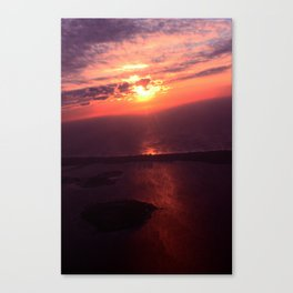In Sky Sunset Canvas Print