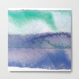 blue&green Metal Print