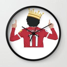 Mo Salah Egyptian King Liverpool Wall Clock