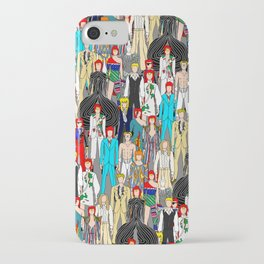 Heroes Doodle Square iPhone Case