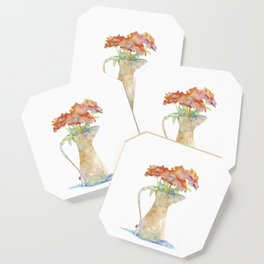 Pitcher of Flowers Coaster