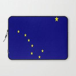 flag of alaska,america,usa,ice, north,Midnight Sun,Alaskan,Anchorage,Fairbanks,Juneau Laptop Sleeve