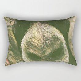 Curious Goat Rectangular Pillow