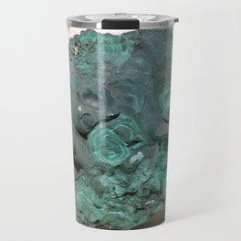Natural Malachite Travel Mug