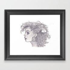 Alisha Framed Art Print