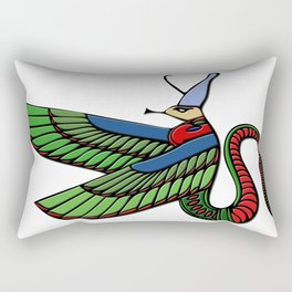 Dragon - demon of ancient Egypt Rectangular Pillow