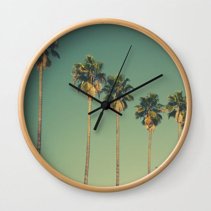 Hollywood Summer Wall Clock
