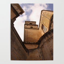 Italian Castle Poster