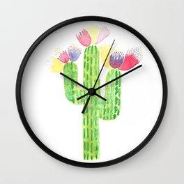 Maraca Cactus Wall Clock