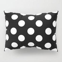 Polka Dot (White & Black Pattern) Pillow Sham