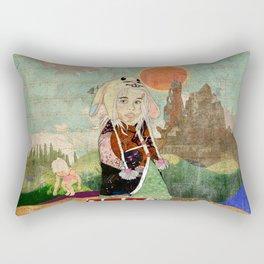 the peculiar adventures of alabee blonde Rectangular Pillow