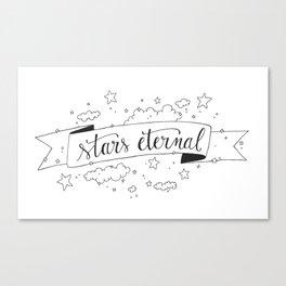 Stars Eternal Canvas Print