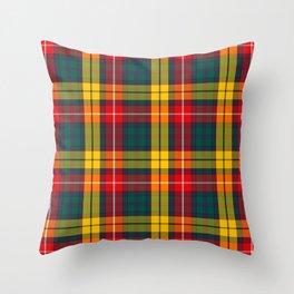 Buchanan Scottish Tartan Throw Pillow