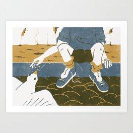 Sin cobre Art Print