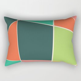Colorful mosaic for your home Rectangular Pillow