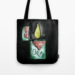 Lighter 2 Tote Bag