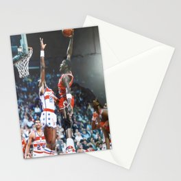 Michael Jorda-n Poster with Frame Basketball Poster Basketball Wall Art Decor Stationery Cards