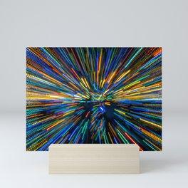 Explosion of Color Mini Art Print