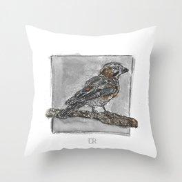 The Eurasian Jay Throw Pillow