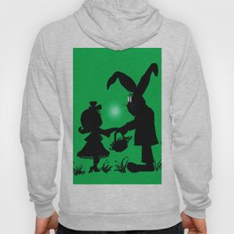 Silhouette Easter Bunny Gift Hoody