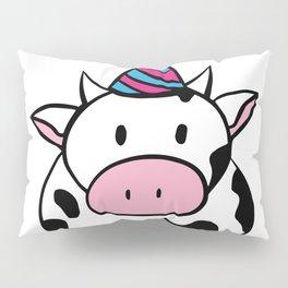 Party Cow Pillow Sham
