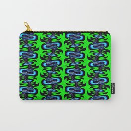 Surf Girl Abstract Repeat Pattern II Carry-All Pouch