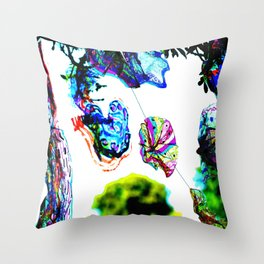 Colours in the Wind from bywhacky's Kettfest Throw Pillow