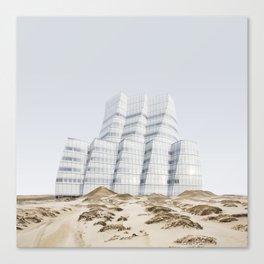 Misplaced Series - IAC Building Canvas Print