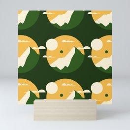 Pencil Scapes 11 Pattern Mini Art Print