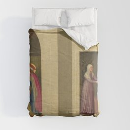 """Fra Angelico (Guido di Pietro) """"The Healing of Palladia by Saint Cosmas and Saint Damian"""" Comforters"""