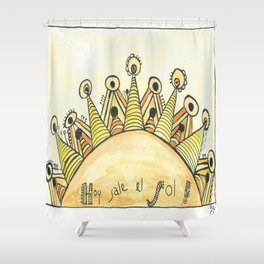 HOY SALE EL SOL Shower Curtain