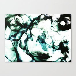 alcohol ink abstract sea c Canvas Print