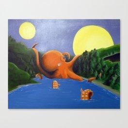 Octogeden Canvas Print