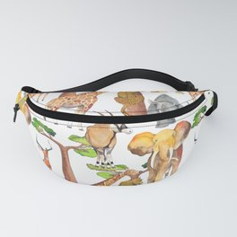 Wild Africa #4 Fanny Pack