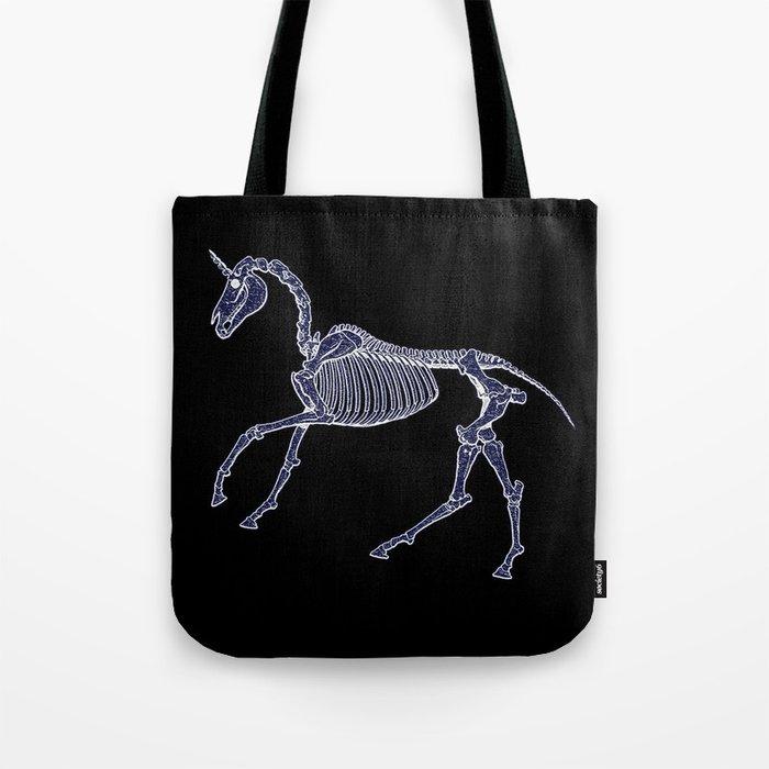 Unicorn Fossil Tote Bag