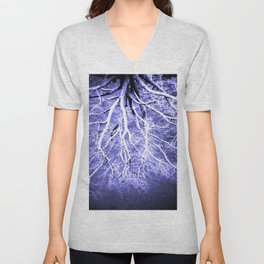 Passage to Hades Periwinkle Gray Unisex V-Neck