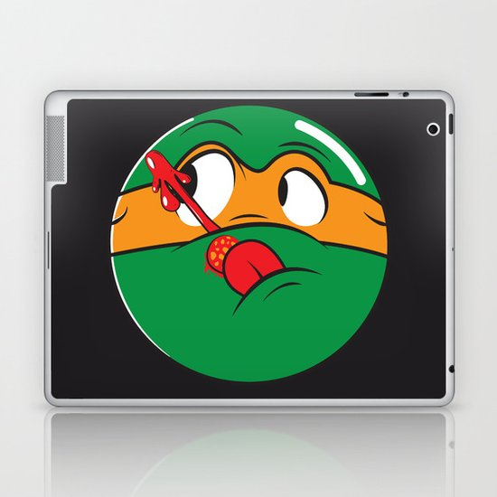 Who Watches the Pizza? Laptop & iPad Skin