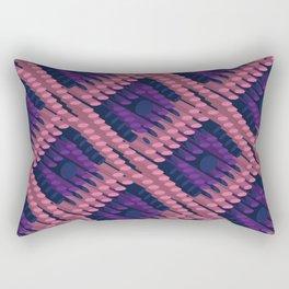 3D Dotted BG Rectangular Pillow