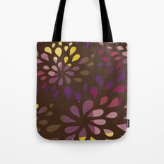 Dark drops Tote Bag
