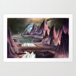 Asimov's Realm Art Print