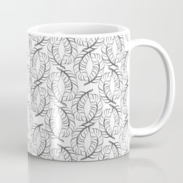 Leaves or Feathers Wreath Together Coffee Mug