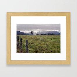 //02-02 FENCE Framed Art Print