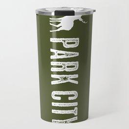Utah: Park City Deer Travel Mug