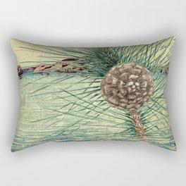 A Hidden View of O-nen Shore Rectangular Pillow