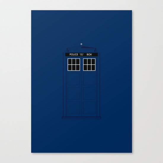 Doctor Who - The Doctor is in.....  Canvas Print